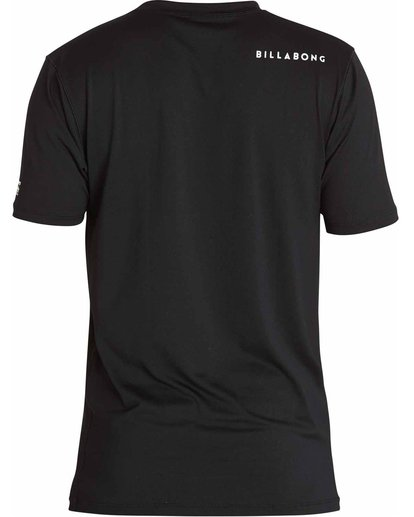 1 All Day Mesh Short Sleeve Wetshirt Black MWLYJSBS Billabong