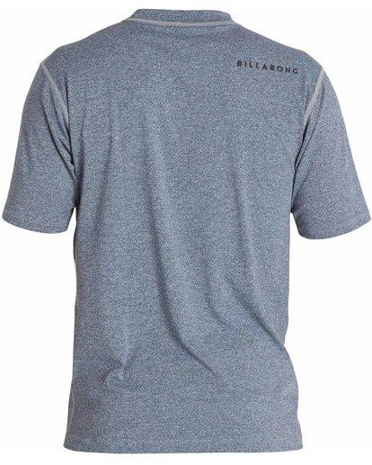 1 All Day Unity Short Sleeve Wetshirt  MWLYJTUS Billabong