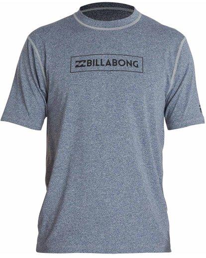 0 All Day Unity Short Sleeve Wetshirt  MWLYJTUS Billabong