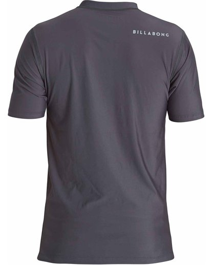 1 All Day Unity Short Sleeve Wetshirt Grey MWLYJTUS Billabong
