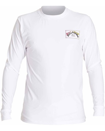 0 Boxarch Loose Fit Long Sleeve Rashguard White MWLYLBAL Billabong