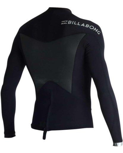 3 Absolute Light 1.5mm Long Sleeve Wetsuit Jacket Black MWSHJALL Billabong