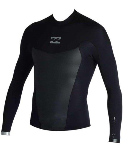 0 Absolute Light 1.5mm Long Sleeve Wetsuit Jacket Black MWSHJALL Billabong