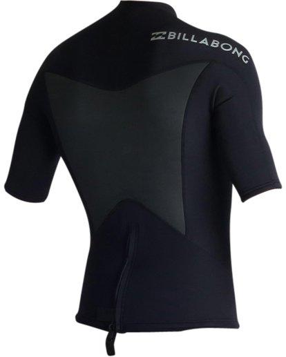 3 2mm Absolute Short Sleeve Wetsuit Jacket Black MWSHJASS Billabong