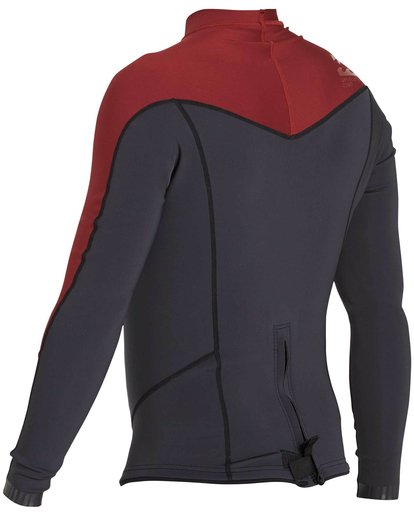 5 2/2 Absolute Comp Long Sleeve Jacket Red MWSHNBAL Billabong