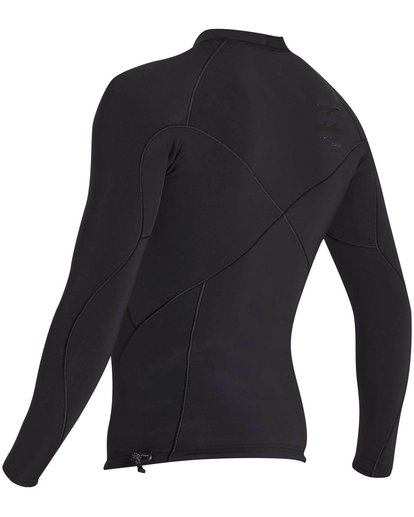 2 1mm Pro Series Airlite Long Sleeve Jacket Black MWSHNBP1 Billabong