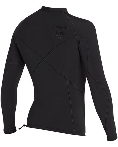 4 1mm Pro Series Airlite Long Sleeve Jacket Black MWSHNBP1 Billabong