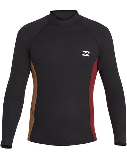 0 2mm Revolution Interchange Reversible Wetsuit Jacket Black MWSHNBT2 Billabong