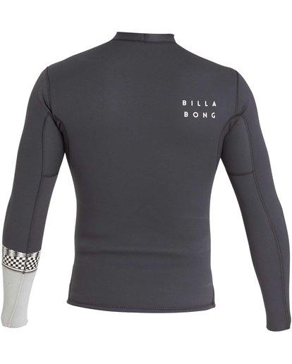 2 2/2 Revolution DBah Long Sleeve Jacket Grey MWSHQBD2 Billabong