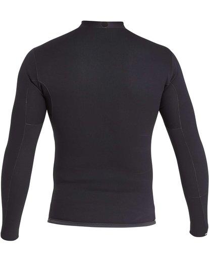 3 2/2 Revolution DBah Long Sleeve Jacket Grey MWSHQBD2 Billabong