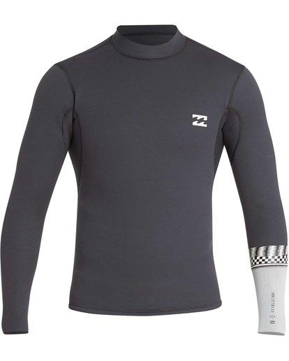0 2/2 Revolution DBah Long Sleeve Jacket Grey MWSHQBD2 Billabong