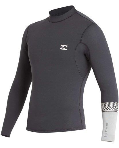 4 2/2 Revolution DBah Long Sleeve Jacket Grey MWSHQBD2 Billabong