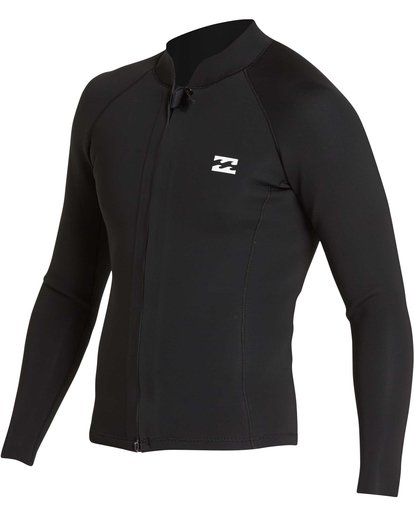 2 2/2 Revolution Pump Front Zip Jacket Black MWSHQBF2 Billabong