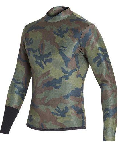 6 2mm Revolution D Bah Long Sleeve Jacket Black MWSHTBD2 Billabong