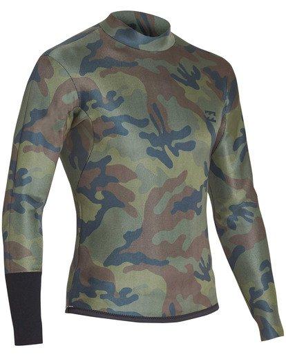 8 2mm Revolution D Bah Long Sleeve Jacket Black MWSHTBD2 Billabong