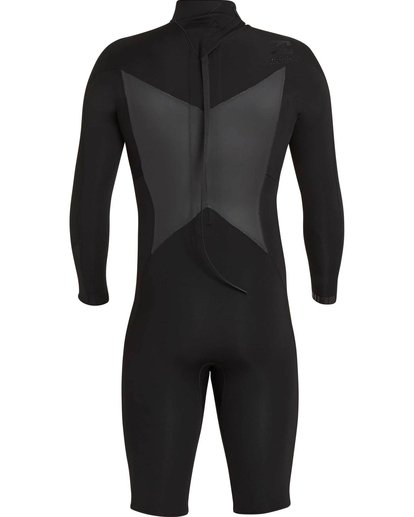 4 2mm Absolute Comp Back Zip Springsuit Black MWSPNBAL Billabong