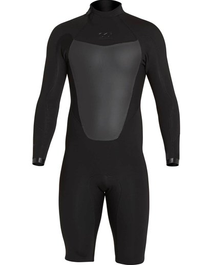 1 2mm Absolute Comp Back Zip Springsuit Black MWSPNBAL Billabong