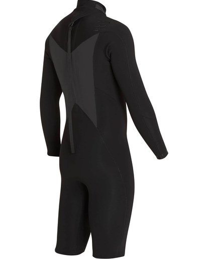 3 2mm Absolute Comp Back Zip Springsuit Black MWSPNBAL Billabong