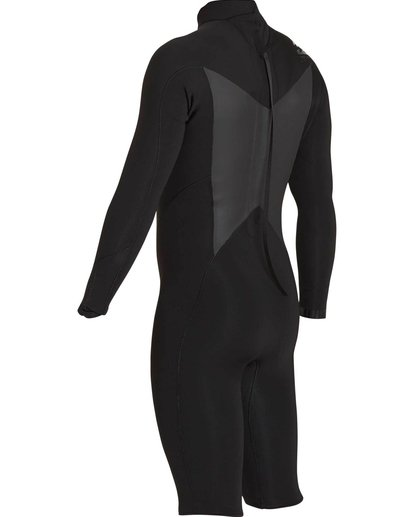 5 2mm Absolute Comp Back Zip Springsuit Black MWSPNBAL Billabong