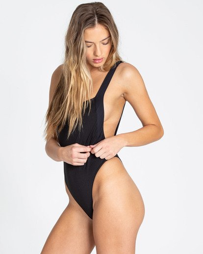 1 Sol Searcher One Piece Swim Black X101TBSO Billabong