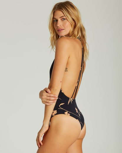 1 Sweet Roots One Piece Swim Black X106SBSW Billabong