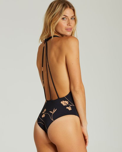 2 Sweet Roots One Piece Swim Black X106SBSW Billabong