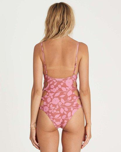 2 Rosy Waves One Piece Swim Brown X107NBRO Billabong