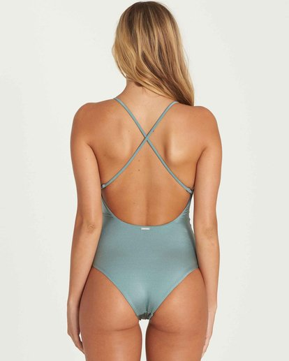 3 Hippie Hooray One Piece Swim Green X111EHIP Billabong