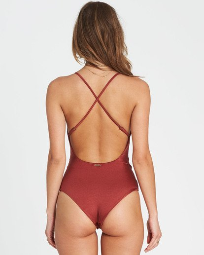 2 Hippie Hooray One Piece Swim Red X111EHIP Billabong