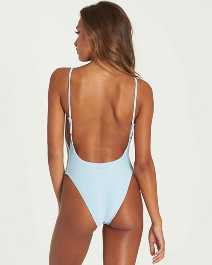 2 Tanlines One Piece Swim Blue X114PBTA Billabong