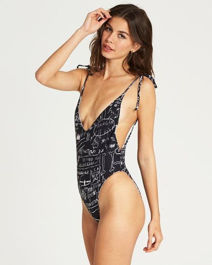 3 Factory Reversible One Piece Swim  X115PBBA Billabong