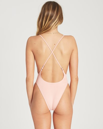 3 Heating Up One Piece Swim Red X124TBHE Billabong