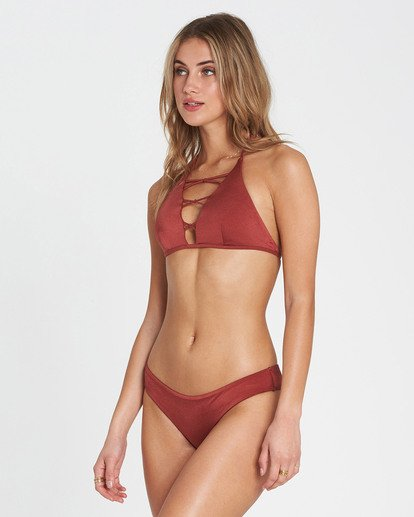 1 Sol Searcher Hawaii Lo Bikini Bottom Red XB01JSOL Billabong