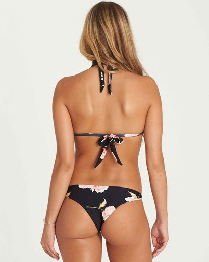 0 Floral Dawn Isla Bikini Bottom Black XB02PBFL Billabong