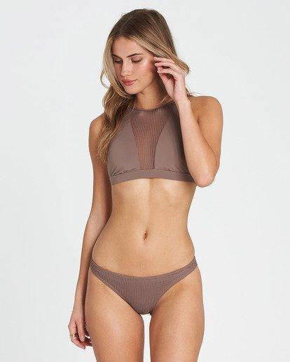 4 Meshed Up Tropic Bikini Bottom Beige XB04SBME Billabong
