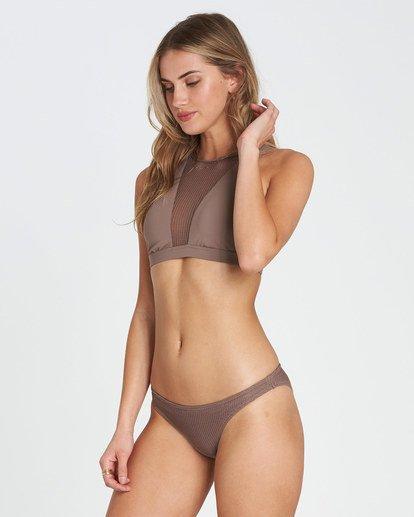 2 Meshed Up Tropic Bikini Bottom Beige XB04SBME Billabong