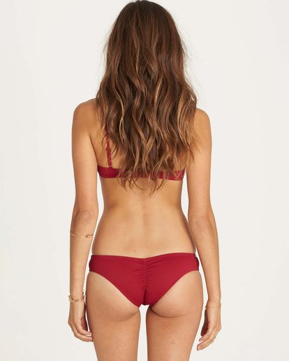 0 Luv Myself Hawaii Lo Bikini Bottom Red XB09LLUV Billabong