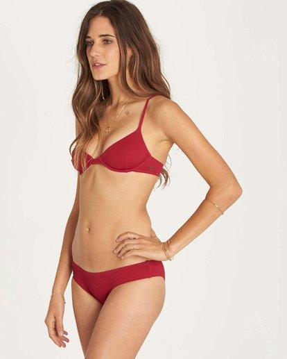 1 Luv Myself Hawaii Lo Bikini Bottom Red XB09LLUV Billabong