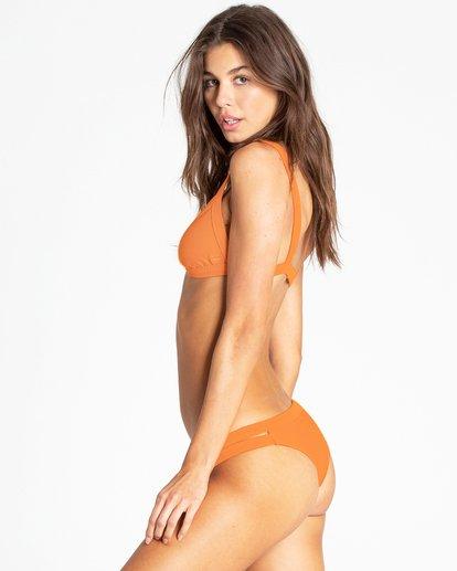 1 Tanlines Isla Bikini Bottom Orange XB10PBTA Billabong
