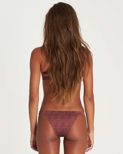 0 Way To Love Isla Bikini Bottom Purple XB11NBWA Billabong