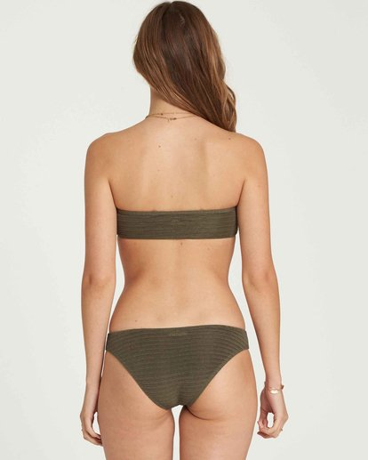 0 No Hurry Tropic Bikini Bottom Green XB21QBNO Billabong