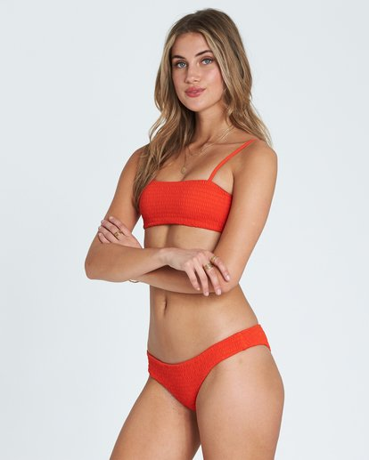2 Fire Hawaii Lo Cheeky Bikini Bottom Red XB21SBFI Billabong
