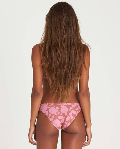 0 Rosy Waves Tropic Bikini Bottom Brown XB22NBRO Billabong