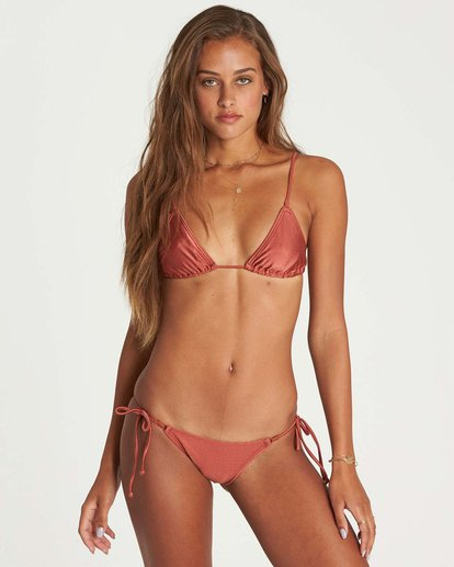 3 Love Bound Tie Isla Bikini Bottom Brown XB24NBLO Billabong
