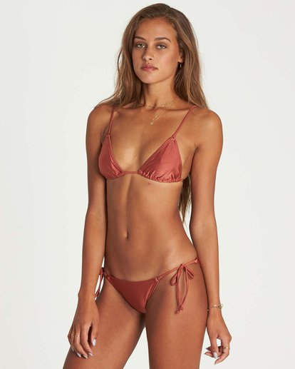 2 Love Bound Tie Isla Bikini Bottom Brown XB24NBLO Billabong