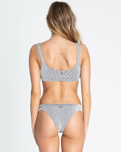 0 New Tide Isla Bikini Bottom White XB26TBNE Billabong