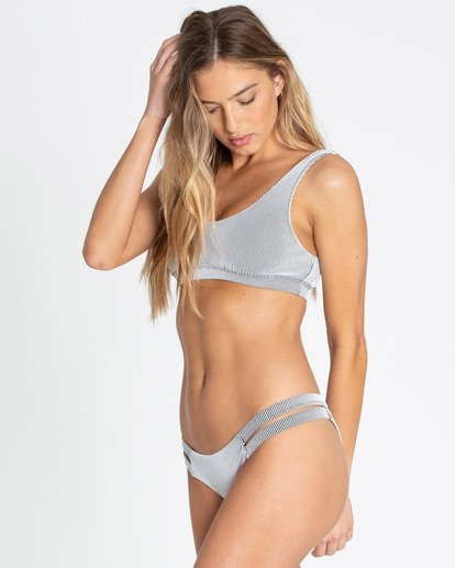 1 New Tide Isla Bikini Bottom White XB26TBNE Billabong