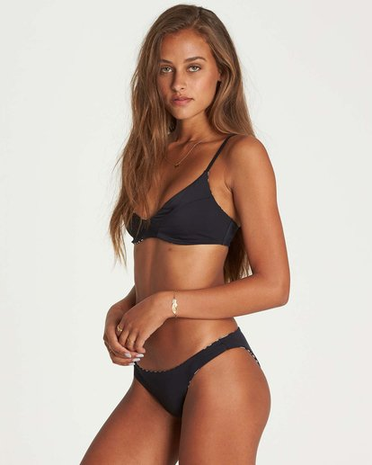 2 Sun Tribe Tropic Bikini Bottom Black XB31NBSU Billabong