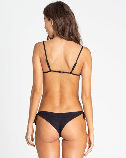 0 Sweet Sands Tanga Tie-Side Bikini Bottom Black XB36TBSW Billabong