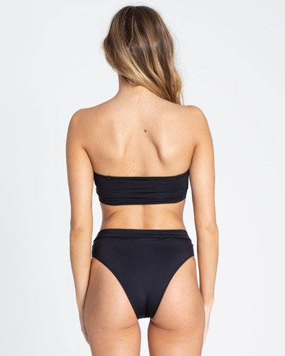 1 Sol Searcher Rise High-Waisted Bikini Bottom Black XB56TBSO Billabong